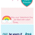 Valentine's Day Treat Bag Tags #FreePrintable