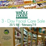 """Skin Care"" 'Whole Foods"" ""Whole Foods Facial Care"""