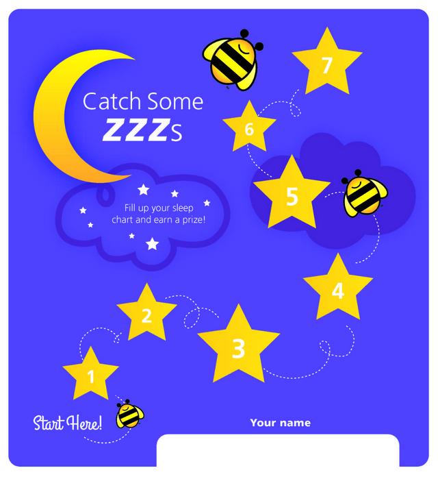 Children's Sleep Chart