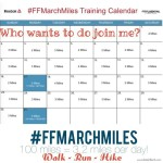 When Plans Change – Fitness Friday #FFMarchMiles (Week 1)