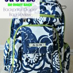 Ju Ju Be Be Right Back Backpack Diaper Bag Review