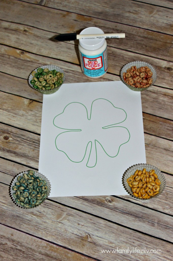 """Shamrock Craft"" ""St. Pattys Day Craft"" ""St. Patrick's Day Craft"" ""Rainbow Shamrock"" ""Children's Crafts"" ""Fine Motor Skills Crafts"" ""Preschool Crafts"""