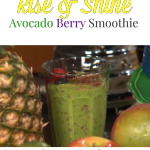 Rise and Shine Avocado Smoothie Recipe