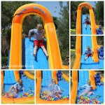 Blast Zone Spray N Splash 2 Inflatable Water Park Review