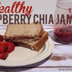 Healthy Raspberry Chia Jam |Take 2 Thursday