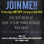 Summer Slimdown DietBet Throwdown! Lose Weight & Win Money!