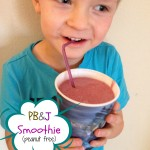 Fresh & Easy Snack Ideas for Kids! + PBJ Smoothie Recipe