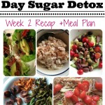 21 Day Sugar Detox Week 2 Recap