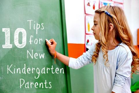 """Worried about Kindergarten"" ""Tips for Kindergarten"" ""Parent Tips"" ""10 Tips for New Kindergarten Parents"""