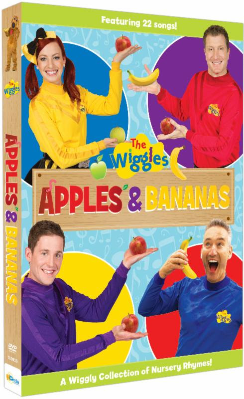 """The Wiggles"" ""The Wiggles DVD"" ""The Wiggles Apples & Bananas DVD"""