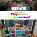 Affordable Playroom Organization @SauderUSA