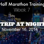 Half Marathon Training Week 7 + Red Rock 5k Race Recap