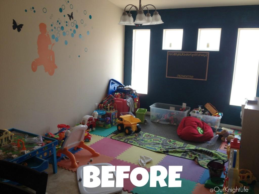 """""""Affordable Playroom Organization"""" """"Organizing the playroom"""" """"Playroom organization"""""""
