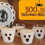 Boo-nilla Halloween Milkshakes!
