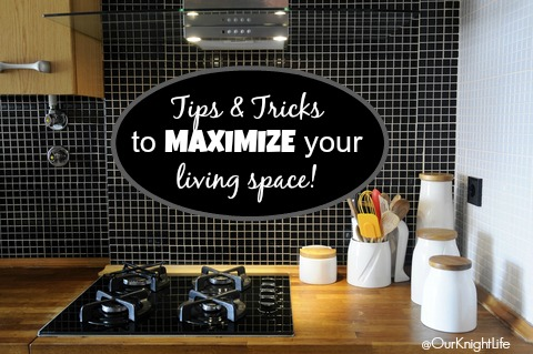 """""""Maximize Your Living Space"""" """"Organize your kitchen"""" """"Organize your bathroom"""""""
