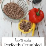 How To Make Perfectly Crumbled Ground Beef! #TheHacksofLife