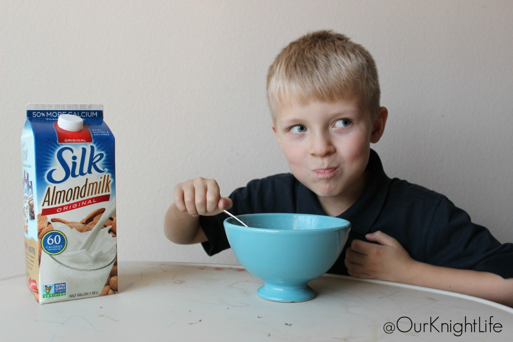 """Silk Almondmilk"", ""Almondmilk and Oatmeal"", ""Almondmilk"", ""Switch to Almondmilk"", ""Silk Almondmilk Taste Challenge"""