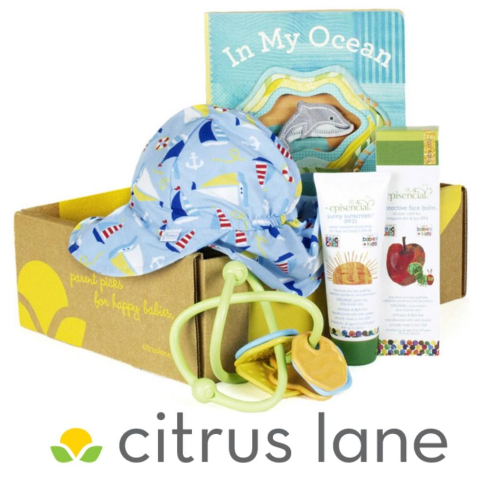 """""""Citrus Lane"""" """"Citrus Lane gift Box"""" """"Gifts for Baby"""""""