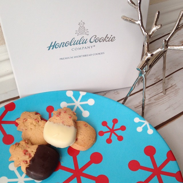 """""""Honolulu Cookie Company"""" """"Holiday Cookies"""" """"Cookie Gift Ideas"""" """"Holiday Gift Guide"""""""