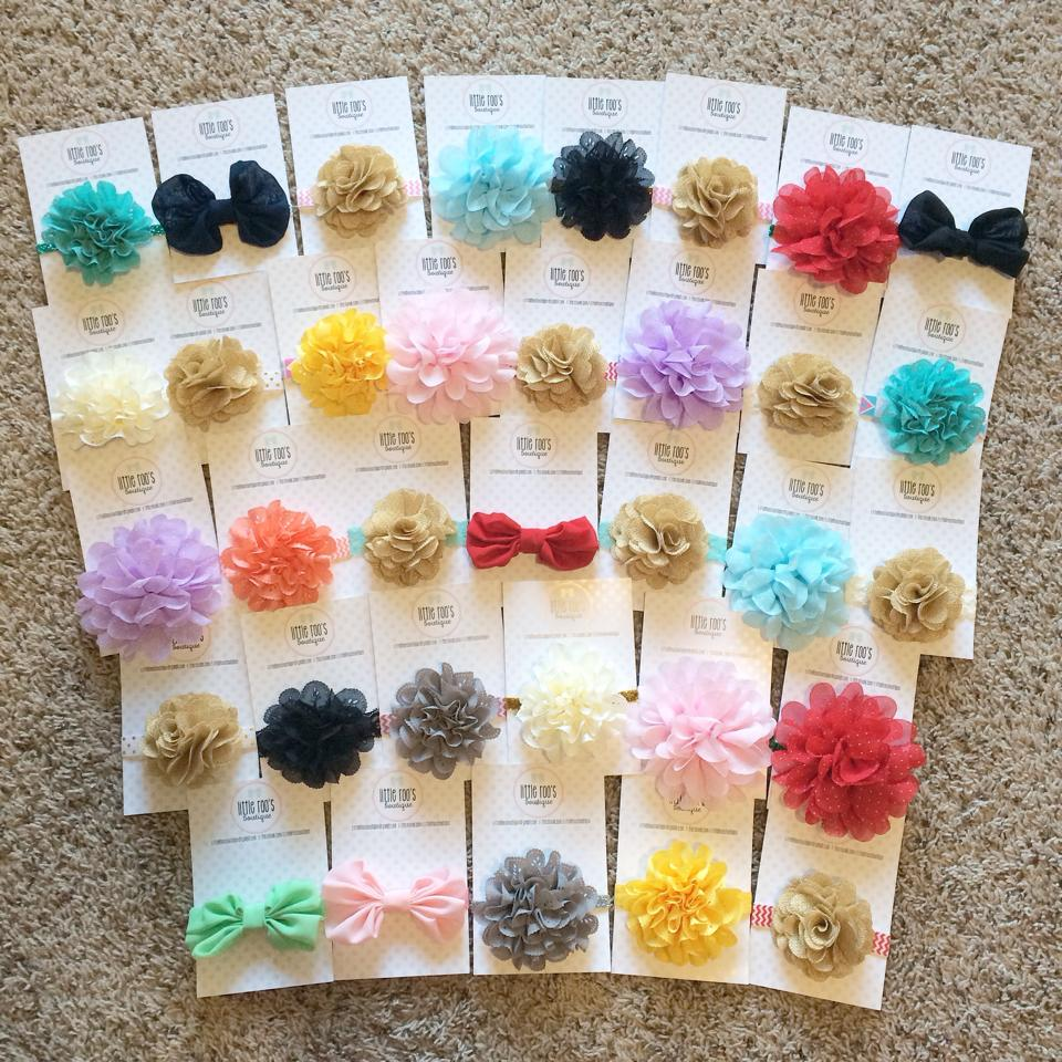 """""""Little Girl Bows"""" """"Little Roos Boutique"""" """"Handmade Gifts"""" """"Holiday Gift Guide"""""""