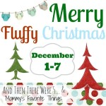 Merry Fluffy Christmas Applecheeks Cloth Diaper Giveaway #FluffyXmas
