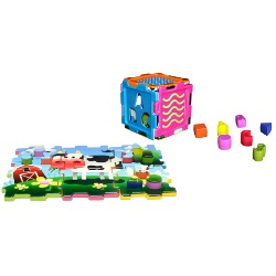 """""""Sensory Toys"""" """"Puzzle Cube"""" """"Gift for Baby"""" """"Holiday Gift Guide"""""""