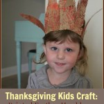 Thanksgiving Kids Craft: Painted Feather Headdress