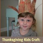 """""""Thanksgiving Craft"""" """"Kids Crafts"""" """"Children's Thanksgiving Craft"""" """"Feather Headresses"""" """"Painted Feathers"""" """"Painted Feather Headress"""""""