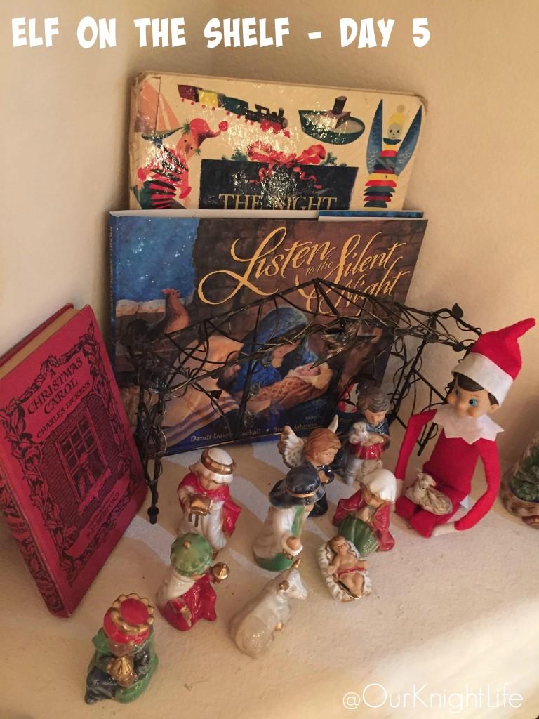Elf On The Shelf - Day 1