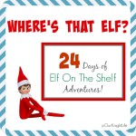 Where is the Elf On The Shelf? | Week One #ElfOnTheShelf