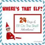 Where is the Elf On The Shelf? | Week One #ElfOnTheShelf