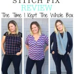 Stitch Fix Review | The Time I Kept The Whole Box!