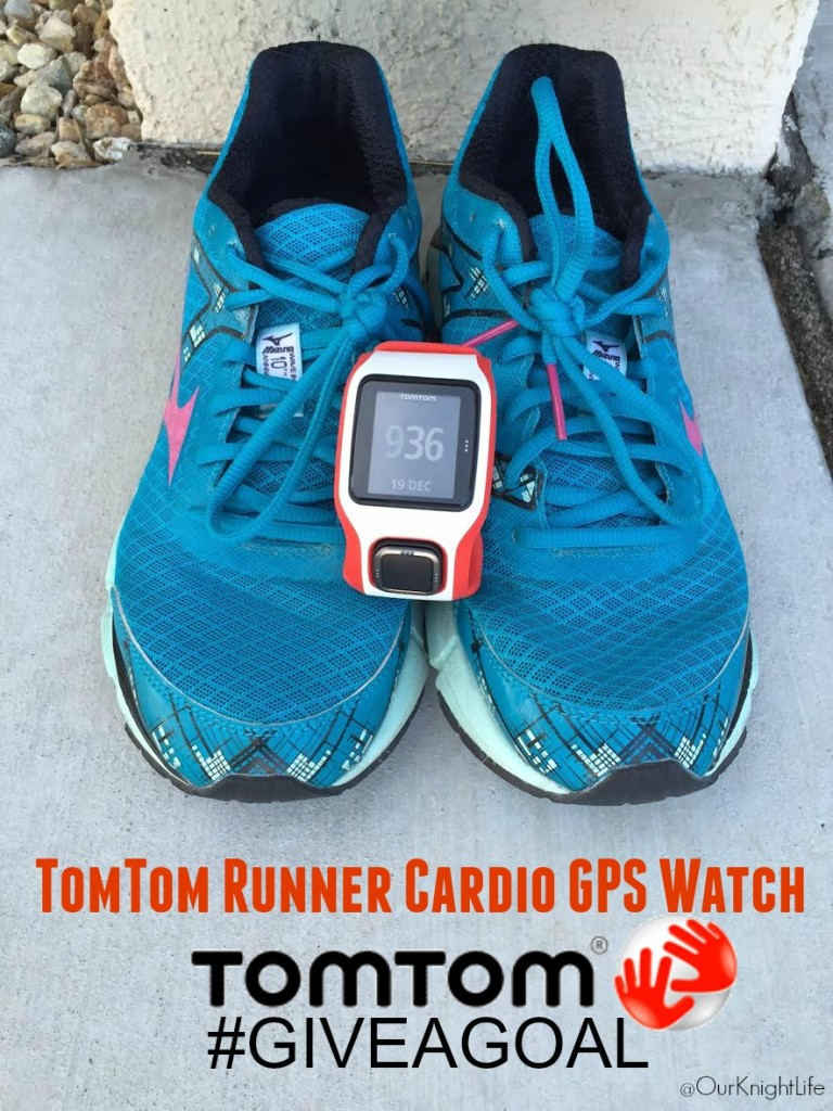 """""""TomTom Runner"""" """"TomTom Runner Cardio GPS Watch"""" """"Running GPS Watch"""" """"#GiveaGoal"""" """"TomTom Runner Watch"""" """"TomTom"""""""