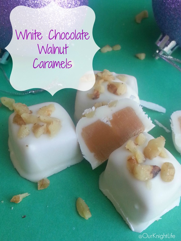 """""""Christmas Candy"""" """"Easy Christmas Candy"""" """"Neighbor Gifts"""" """"Caramel Candy"""" """"White Chocolate Walnut Caramels"""" """"Holiday Candy Recipe"""" """"Easy Holiday Candy Recipe"""""""