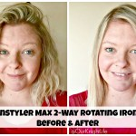 InStyler Max 2-Way Rotating Iron Review! #RSVPInStyler