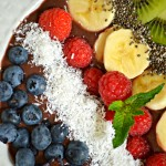 Eat A Rainbow: Acai Bowl Recipe {Serves 2}