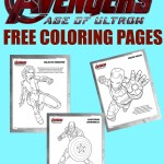 Avengers: Age of Ultron Coloring Sheets! #FreePrintables