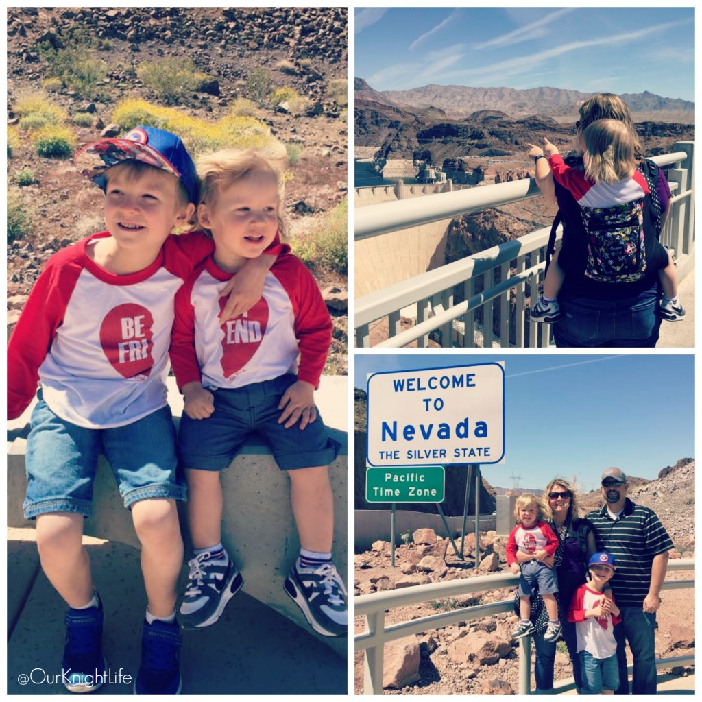 """Hoover Dam"" ""Toddler Carrier"" ""Welcome To Nevada"""