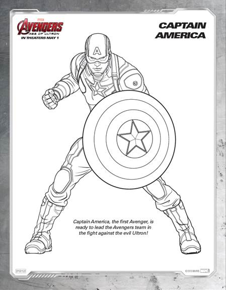 Avengers: Age of Ultron Coloring Pages