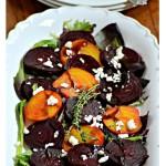"""""""Simple Roasted Beet Salad"""" """"Beet Salad"""" """"Beets"""" """"Summer Salad Recipe"""""""