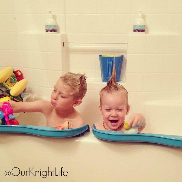 """Shelfie"" ""Bathtub Shelf"" ""Bathtub Toys for Kids"""