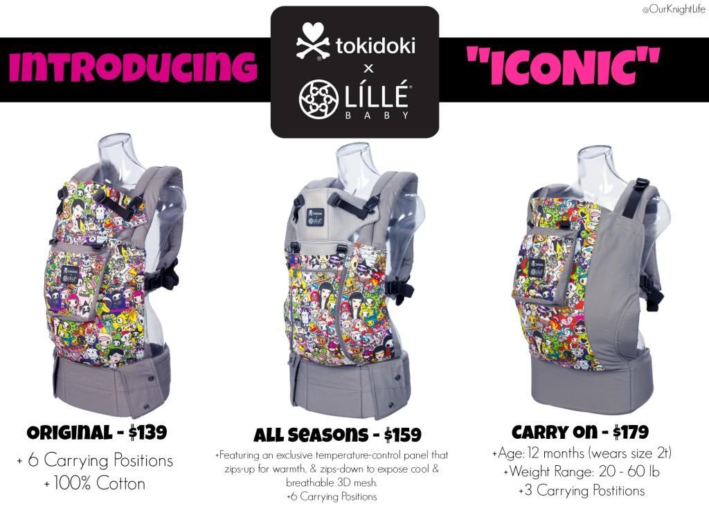 """""""Tokidoki"""" """"Tokidoki Rebel"""" """"Tokidoki Lillebaby"""" """"Tokidoki LILLEbaby Baby Carrier""""""""Lillebaby Tokidoki Carrier"""" """"Tokidoki Iconic"""""""