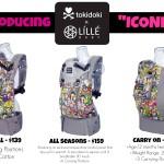 "Tokidoki LILLEbaby Baby Carrier! Meet ""Iconic""! #tokidokixlillebaby"