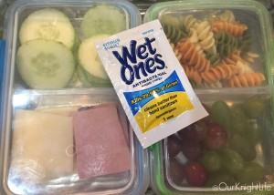 """School Lunch Ideas"" ""Wet Ones"""