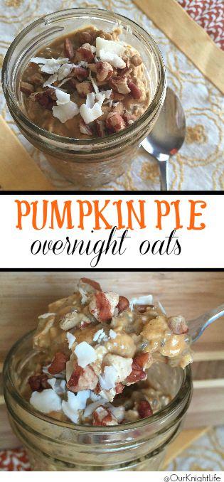 """Orgain Plant-based Protein Powder"" ""Plant-Based Protein"" ""Overnight oats"" ""Pumpkin pie overnight oats"" ""Pumpkin Pie Oatmeal"" ""Pumpkin Pie Overnight Oatmeal"""