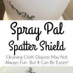 Spray Pal Review | A Cloth Diapering Must Have Accessory