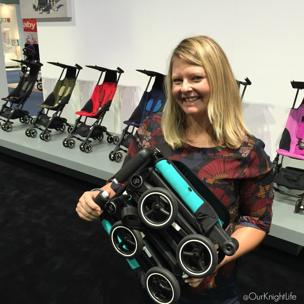 """ABC Kids Expo"" ""Smallest Stroller"" ""GB Pockit"" ""GB Stroller"""