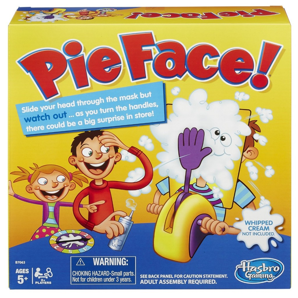 """""""Pie Face Game"""" """"Hasbro Pie Face"""" """"holiday gift guide"""" """"toys for kids"""""""