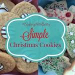 """Baking Christmas Cookies"" ""Christmas Cookies"" ""Betty Crocker"" ""Baking with Betty"" ""Betty Crocker Cookie Mix"""