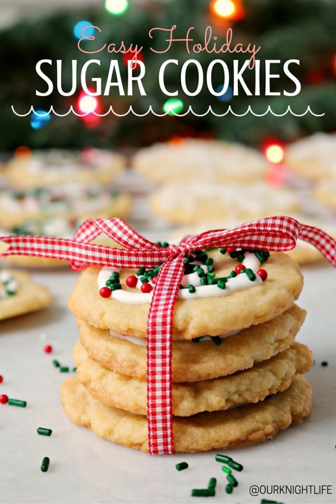 """""""Christmas Cookies"""" """"Easy Christmas Cookies"""" """"Sugar Cookie Recipe"""" """"Easy Sugar Cookie Recipe"""" """"Cookie Recipe"""""""